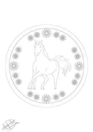 Ausmalbilder Pferde - Kostenlose Malvorlagen zum Ausmalen
