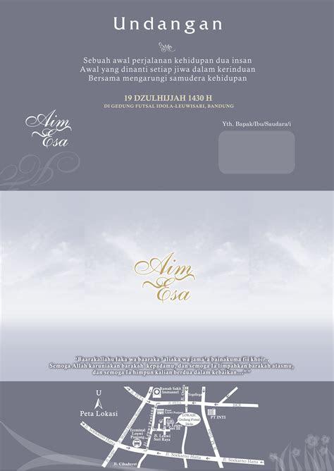 undangan contoh undangan pernikahan unik