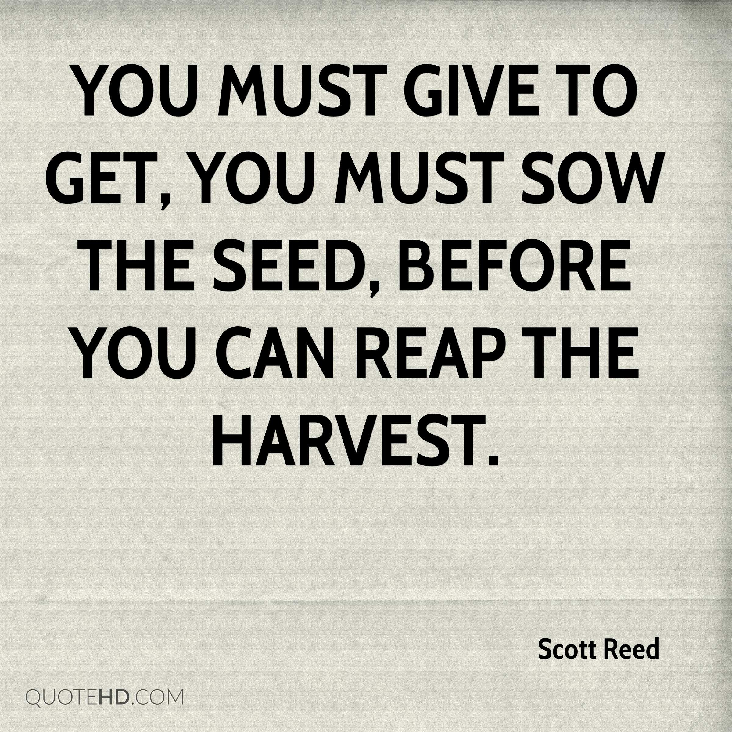 Scott Reed Quotes Quotehd