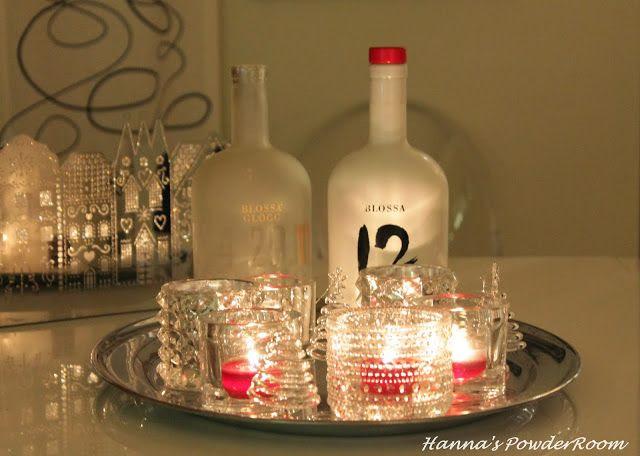 Candle tray Hanna's PowderRoom Blog