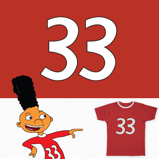 Gerald's 33 on Threadless