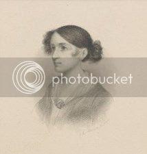 drawing of Washington Irving's fiancee, Matilda Hoffman