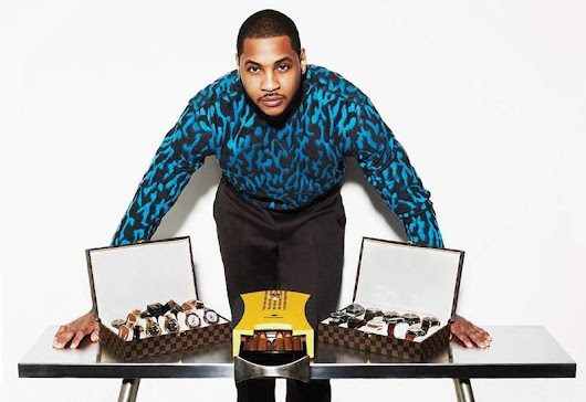 A Peek Into Carmelo Anthony's Rolex Collection