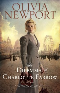 Olivia Newport Cover of The Dilemma of Charlotte Farrow