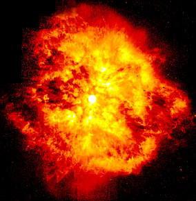Ilustración de Explosión cósmica