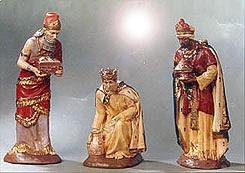 Figurines des trois rois mages