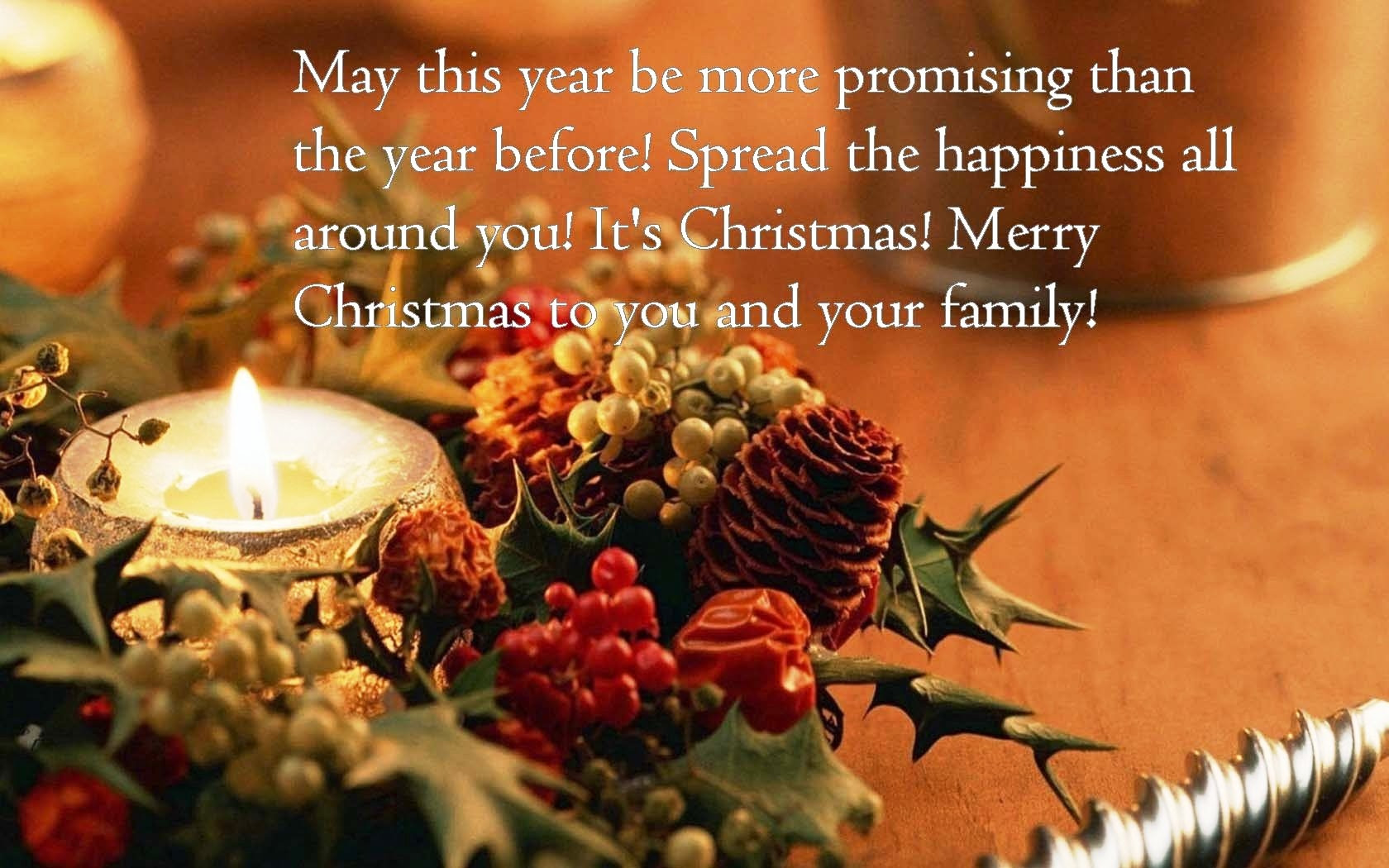 Merry Christmas To You And Your Family Pictures Photos And Images