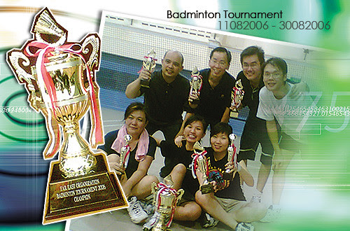 Badminton Tournament 2006
