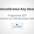 → Webconférence AnyIdeas : vendredi 4 avril à 20h ! ★ Any Ideas