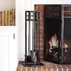 Fireplace Toolset - Matte Black Finish - Threshold