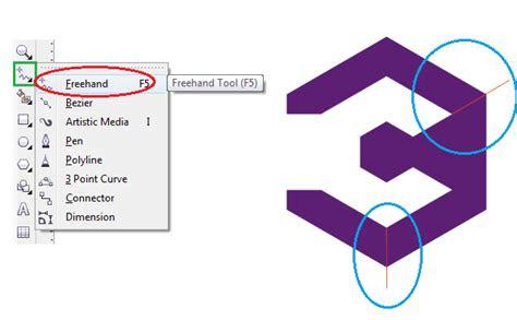 tutorial  mudah membuat desain logo  coreldraw