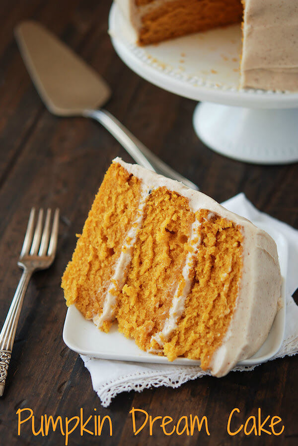 Pumpkin Cake, Pumpkin Layer Cake, Cream Cheese Frosting, Cinnamon Cream Cheese Frosting, Maple Cream Cheese Frosting,