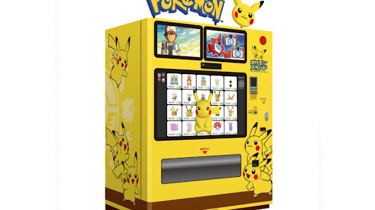Japan Now Has Pokémon Vending Machines