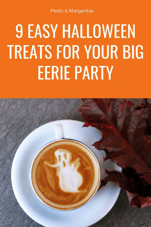 9 Easy Halloween Treats for Your Big Eerie Party | Halloween Wedding Ideas | Pinterest