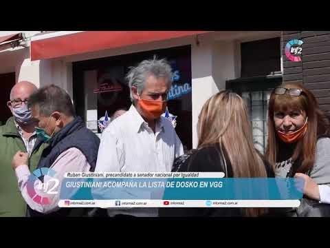 """Giustiniani en Vgg: """"El Frente Amplio Progresista llega para ser el voto positivo y alternativa"""""""