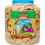 Kirkland Signature Organic Animal Crackers, 4 lbs