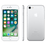 Apple iPhone 7 128GB Silver GSM Unlocked (AT&T / T-Mobile) Smartphone