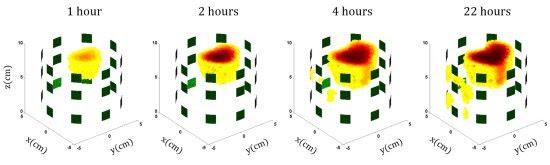 Imageamento elétrico mostra água que se infiltra pelo concreto