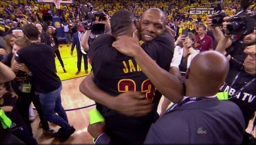 Congratulations to #Cleveland #Cavaliers - #NBA #National #Champions!  THE CLEVELAND CAVALIERS ARE NBA...