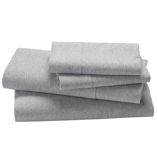 Kids' Bedding: Grey Jeresey Sheet Set in Sheet Sets | The Land of Nod