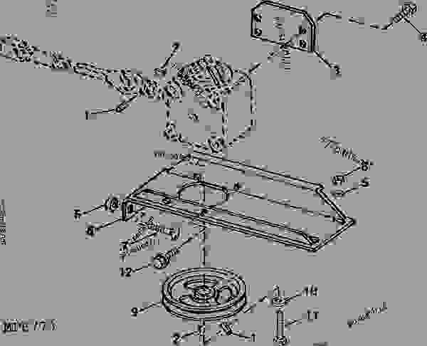 32 John Deere 60 Inch Mower Deck Parts Diagram