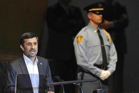 Ahmadineyad interviene durante el debate general.| Efe