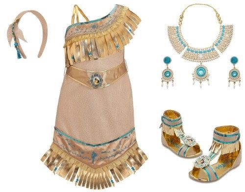 Disney Store Pocahontas Shoes