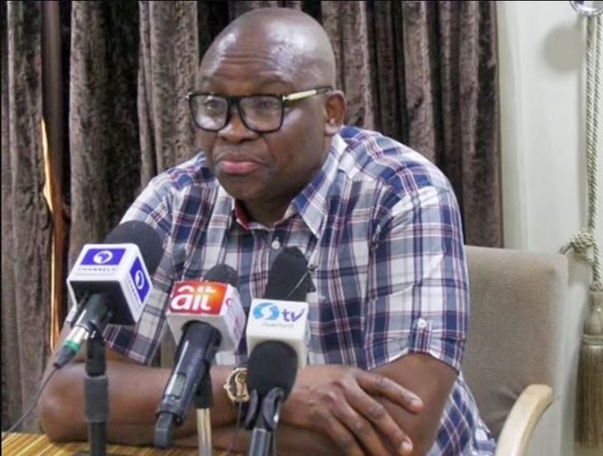 Why I Shunned Buhari's Meeting With Governors – Fayose Opens Up