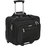 Samsonite Casual Wheeled Laptop Overnighter - Black - Rolling Business Cases