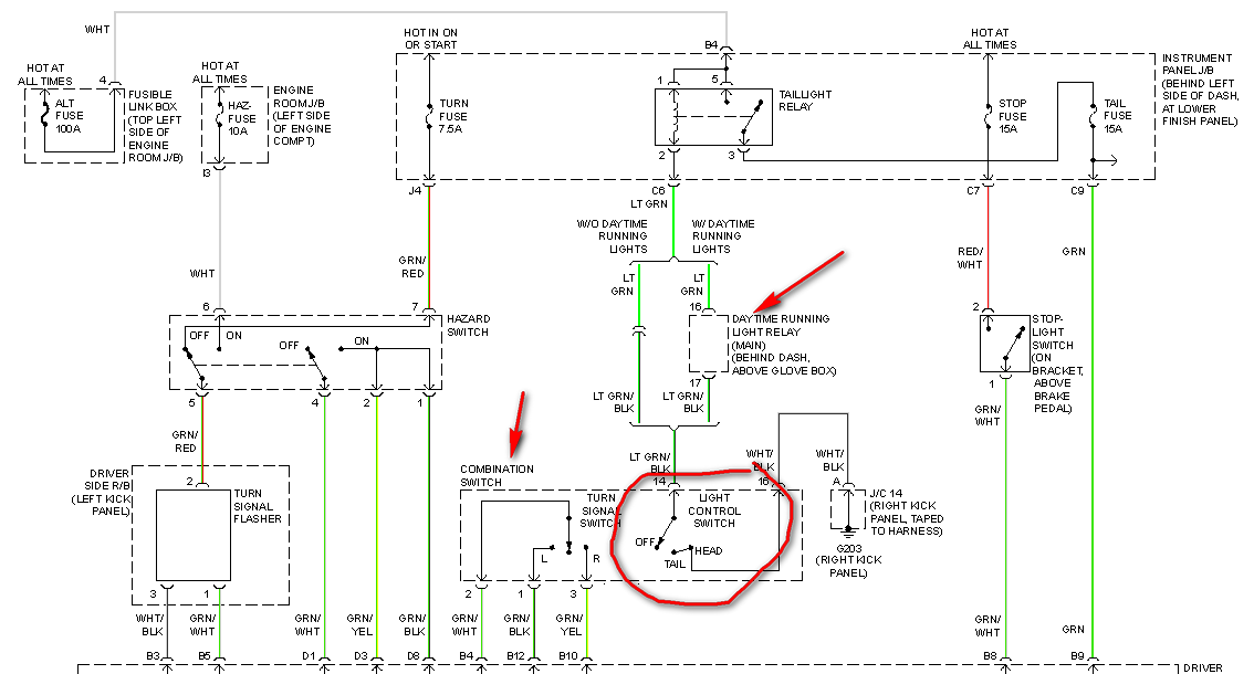 2000 Corolla Wiring Diagram