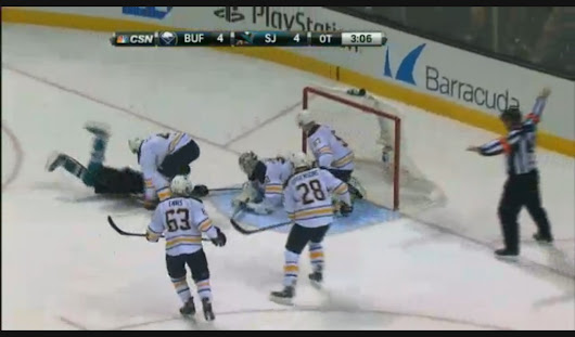 NHL rightly defends Shark-Sabres no-goal call