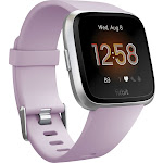 Fitbit Versa Lite Smartwatch with Small & Large Band - Lilac, Purple
