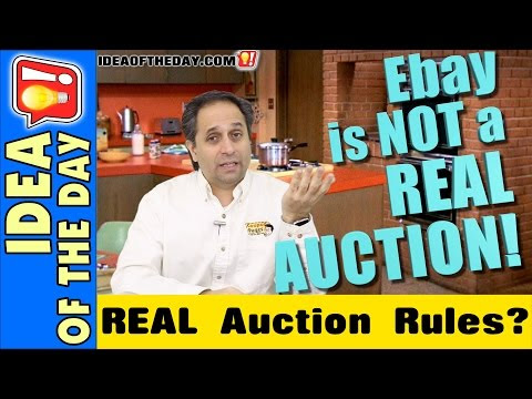 Why doesn't eBay offer REAL Auction Rules to Prevent Sniping? - Idea of the Day - A new idea each day. Some Don't Suck!