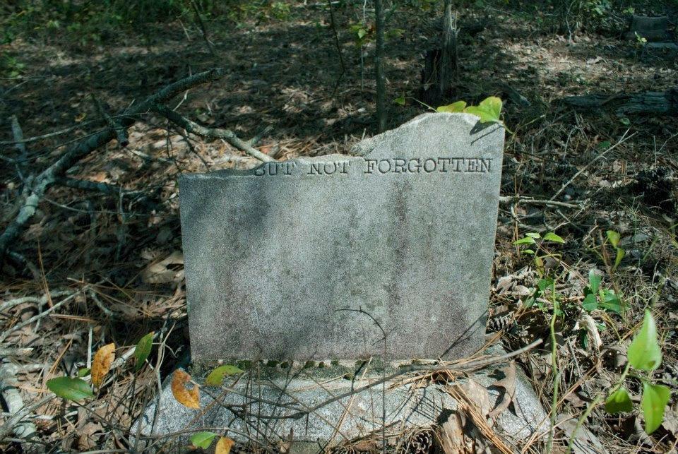 but not forgotten broken stone