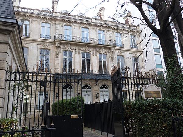 Hôtel le Marois 1863