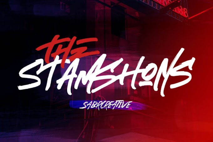 The Stamshons Font