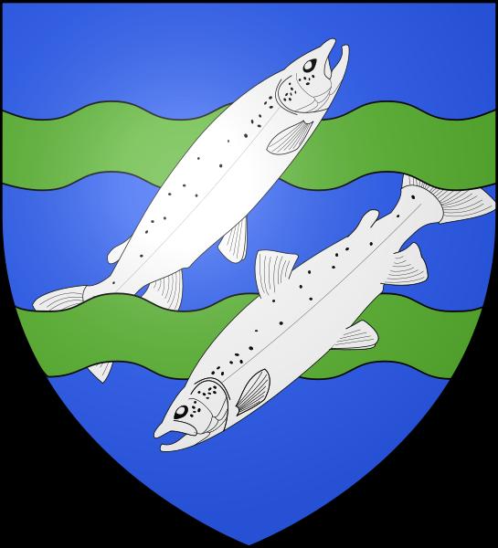 Archivo: Blason ville fr Mont-Saint-Michel (50) ancien.svg