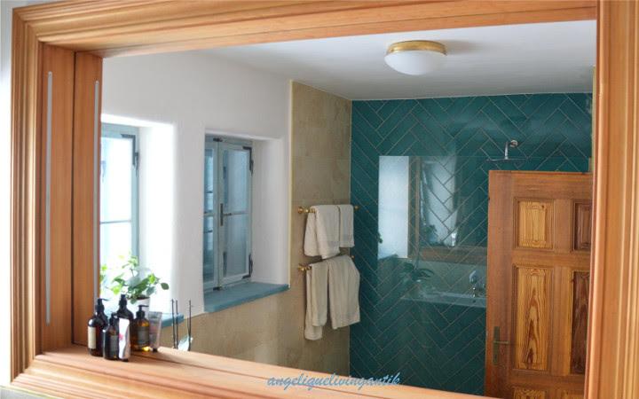 Sanierung Badezimmer VORHER-NACHHER - angeliquelivingantik