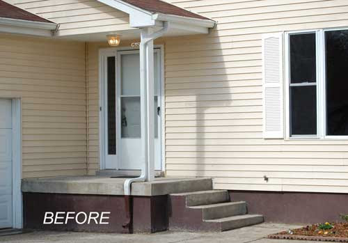 Small Front Porch | Front Porch Ideas | Front Porch Decorating