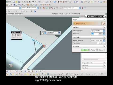 NX_CAD_CAM_CAE_TOOLING_CHENNAI: NX8 - three bend corner