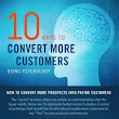 10 Ways to Use Psychology to Convert Customers [Infographic]