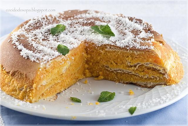 Pastel de zanahorias y coco_2