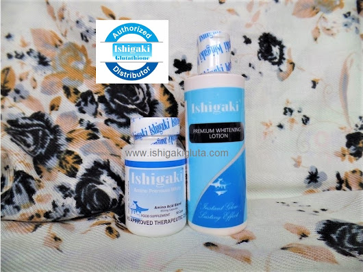 Ishigaki Amino Premium White 30 caps with Lotion - Ishigaki Glutathione Philippines Distributor