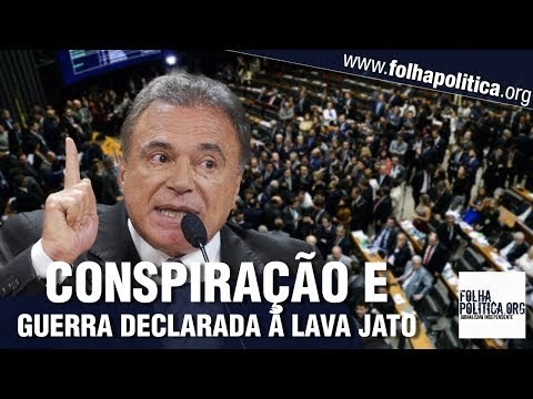 Senador Álvaro Dias escancara 'conspiração visível' e guerra para destruir a Lava Jato