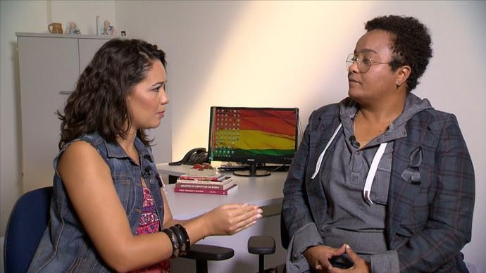 Vida Bruno destaca que as políticas públicas ajudam a comunidade (Foto: TV Bahia)