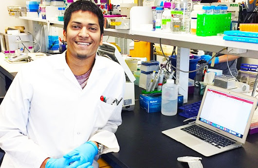 STEM SIGHTS: This Concordia student is developing a drug to stop cancer