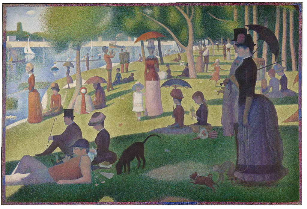 Sunday Afternoon On La Grande Jatte