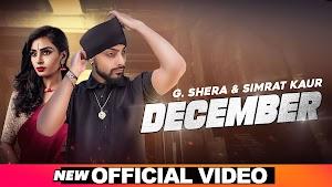 December Lyrics - G Shera, Simrat Kaur  ~ LYRICGROOVE