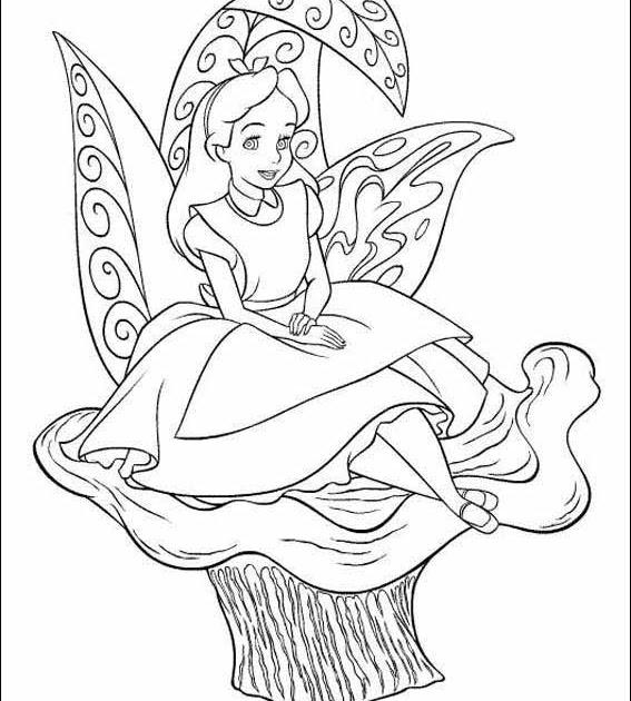 Disney Queen Of Hearts Coloring