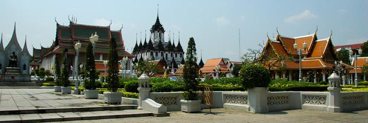 Bangkok, ville des temples boudistes